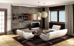 Moderní obývací pokoj, v němž se budete cítit dobře