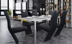 Moderní černé židle skvěle ozdobí vaši kuchyň nebo kancelář