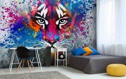 Graffiti jako designový doplněk moderních interiérů? Dnes už překvapivě ano!
