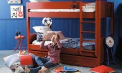 Patrová postel efektivně vyřeší potíže s nedostatkem prostoru v dětském pokoji