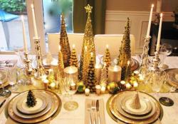 Silvestrovský interiér září barvami, prim hraje zlatá