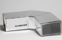 CLIMAVER - vzduchotechnické potrubí a izolace v jednom