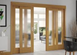 Posuvné dveře vyřeší potíže velké místnosti, efektivně pomohou a stylově ohromí i vás