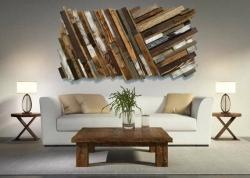 Dřevěné umění, které se hodí jak do interiéru, tak do zahrady
