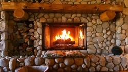 Krb nebo kamna naplní dům teplem a hřejivou atmosférou