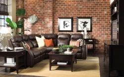 Cihlová stěna oživí atmosféru každého interiéru
