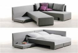 Pohovka i postel v jednom. Rozkládací postele do malých prostorů